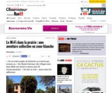 Capture d'écran de l'article de Rue89  - Le Wi-Fi dans la prairie : une aventure collective en zone blanche
